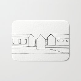 Stairs and Houses - 3 Bath Mat