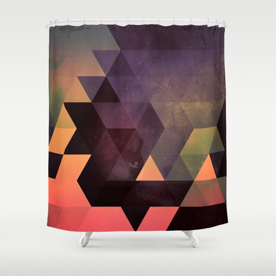 dygyt Shower Curtain