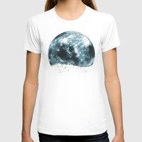 lunar T-shirts featuring lunar water by sustici