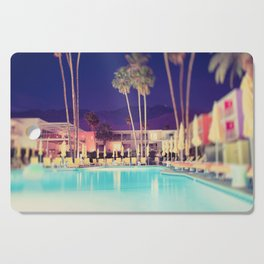 Palm Springs Hotel Cutting Board