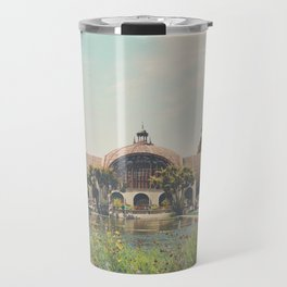 the botanical building in Balboa Park, San Diego Travel Mug