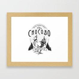 Chocobo Forest - Vintage Framed Art Print