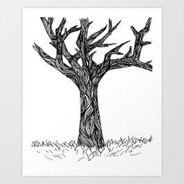Henna Design 10 Art Print
