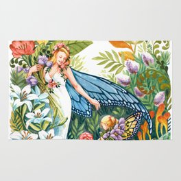 Flower Fairy Rug