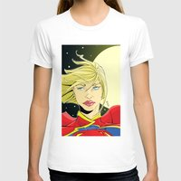 supergirl T-shirts featuring New 52! Supergirl by Jeremy Gonzalez