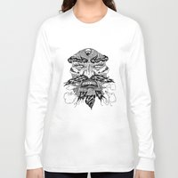 demon Long Sleeve T-shirts featuring demon by Fellow Artist