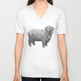 The sheep Unisex V-Neck