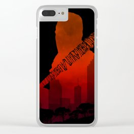 The Walking Dead - Negan and his beautiful Lucille Clear iPhone Case