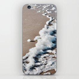 Foam on the beach on the Sunshine Coast iPhone Skin
