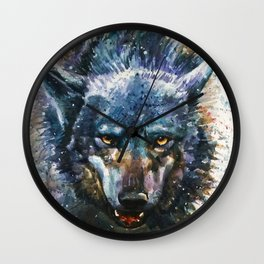 Wolf - last fight Wall Clock