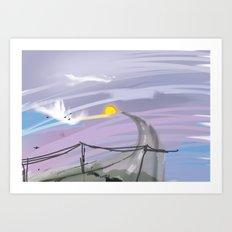 My view Art Print