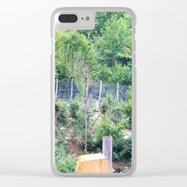 Playtime For The Wild And Tamed Clear iPhone Case