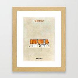 Christo Framed Art Print