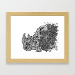 A RHINO Framed Art Print
