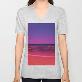 Fantasy beach 2 Unisex V-Neck