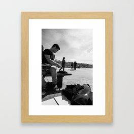 Re-string Framed Art Print