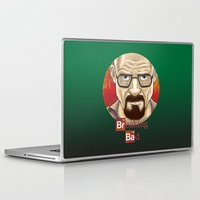 walter white Laptop & iPad Skins featuring Walter White  by gunberk