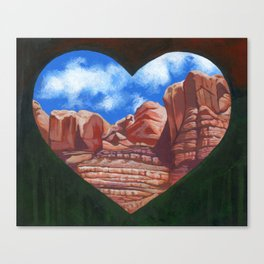 Bluff Utah Canvas Print