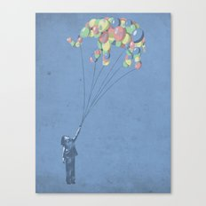The Lightest Elephant Canvas Print