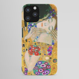The Kiss by Gustav Klimt iPhone Case