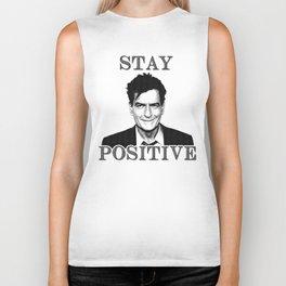 Stay Positive Biker Tank