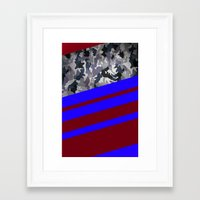 camo Framed Art Prints featuring Camo by Fox Industries