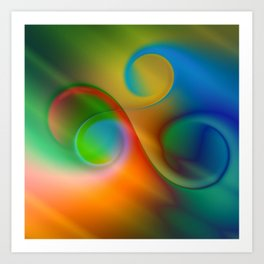 color whirl -2- Art Print