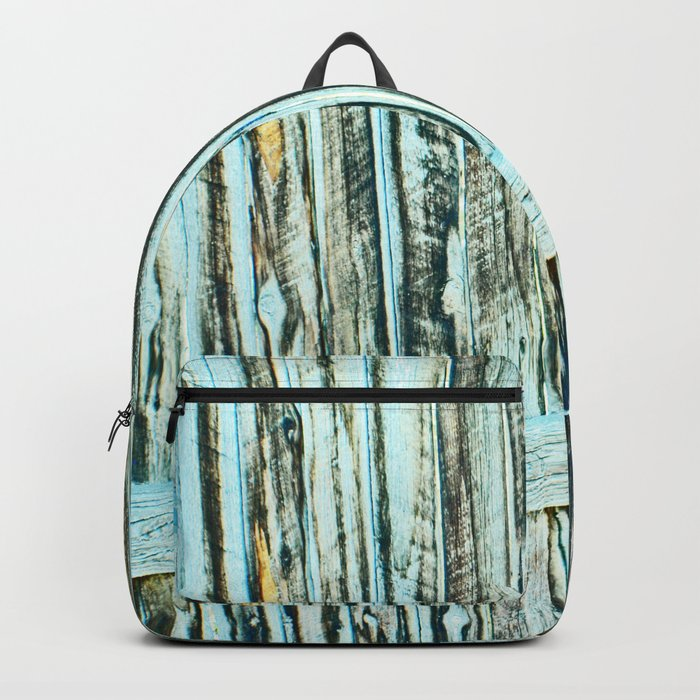 Abstract Wood Backpack