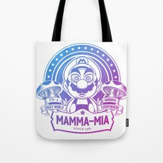 Mamma Mia Super Mario is-a Crazy Tote Bag