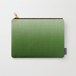 Tropical Green Gradient Carry-All Pouch