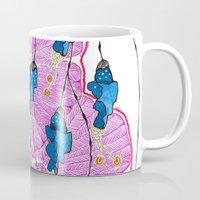 hibiscus Mugs featuring Hibiscus by Gosia&Helena