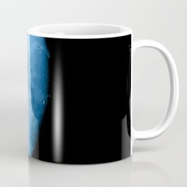 4K Dark Side of the Moon Ice Blue Coffee Mug