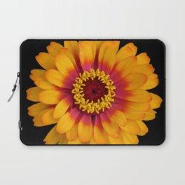 Orange Flower Laptop Sleeve