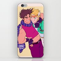 jjba iPhone & iPod Skins featuring caejose by JohannaTheMad