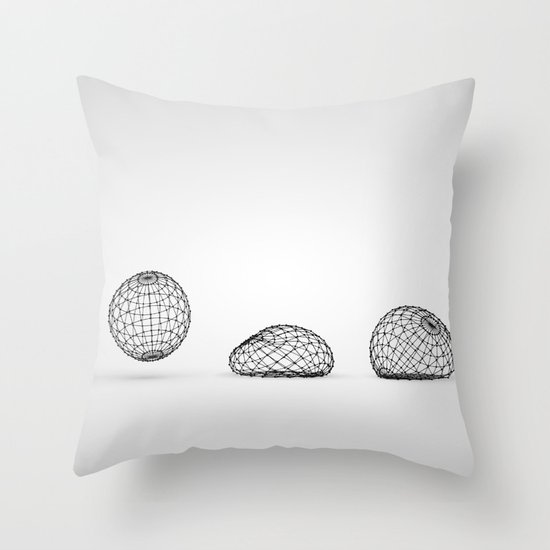 Structural Throw Pillow