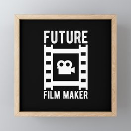 Future Fim Maker Framed Mini Art Print