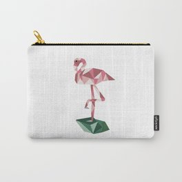 Rose's Flamingo Carry-All Pouch