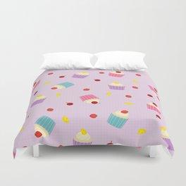 Fruity Cupcakes Duvet Cover