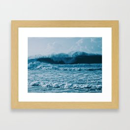 Lost In Waves Framed Art Print