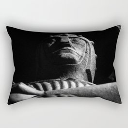 shot on film .. knight Rectangular Pillow