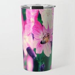 Hornet and Flower Travel Mug