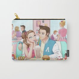 Love at Peggy's Carry-All Pouch