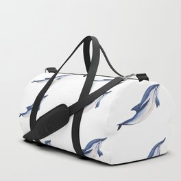 Striped baby dolphin Duffle Bag