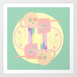 G-e-n-e-s-i-s Art Print