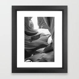 ANTELOPE CANYON XX Framed Art Print