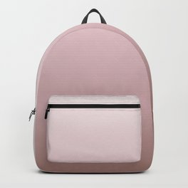 Dusky Pink Gradient Backpack
