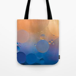 Oil and Water Abstract Tote Bag