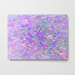 Speckled Pink Metal Print