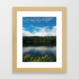 Ocean Calm II Framed Art Print