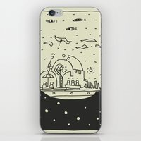 ship iPhone & iPod Skins featuring Ship by inktheboot